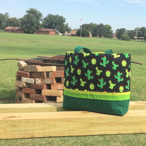 Cactus Tote Bag - TLC Patterns