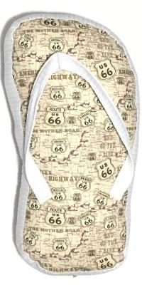 Route 66 Dreamy Map Pillow - TLC Patterns