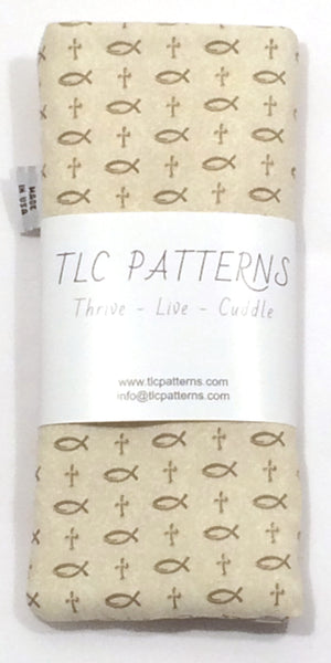 Fish & Crosses Pot Grabber - TLC Patterns