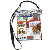 (Wholesale) Route 66 Get Your Kicks Crossbody Purse