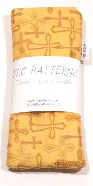 Golden Crosses Pot Grabber - TLC Patterns