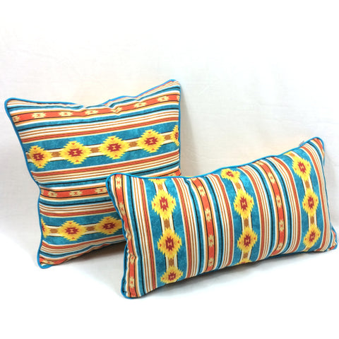 Indian Blanket Accent Pillow