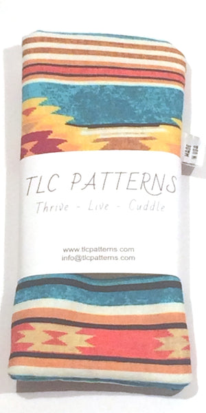 Indian Blanket Pot Grabber + 2 Colors - TLC Patterns