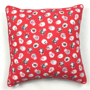 Knitting Sheep Accent Pillow
