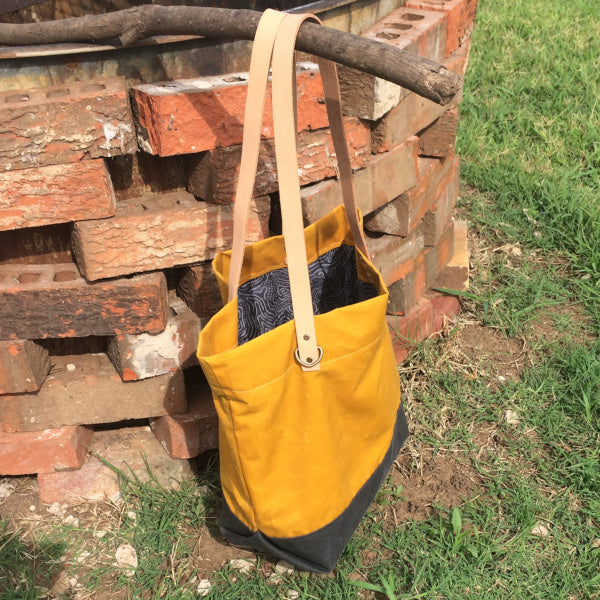 Marigold Tote Bag - TLC Patterns