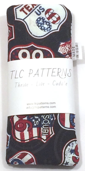 Route 66 Signs Pot Grabber - TLC Patterns