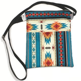 (Wholesale) Sedona Teal Crossbody Purse