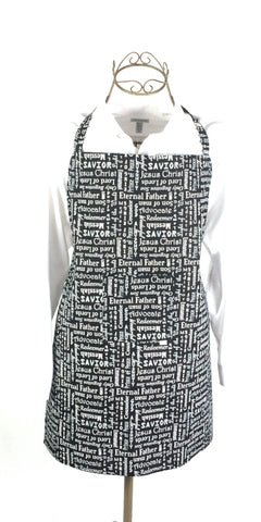 (Wholesale) Silent Night Apron - TLC Patterns
