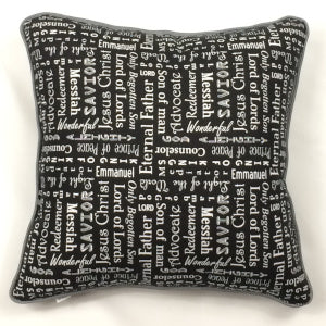 Silent Night Accent Pillow