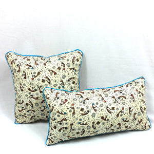 Tossed Kokopelli Square Pillow - TLC Patterns