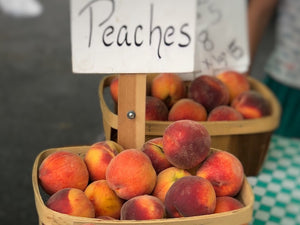Celebrating National Peach Month - Jam Style