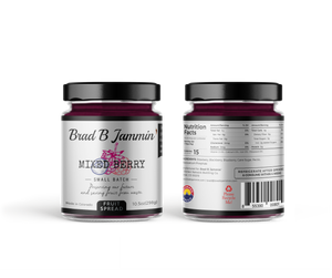 Mixed Berry<br> Fruit Spread