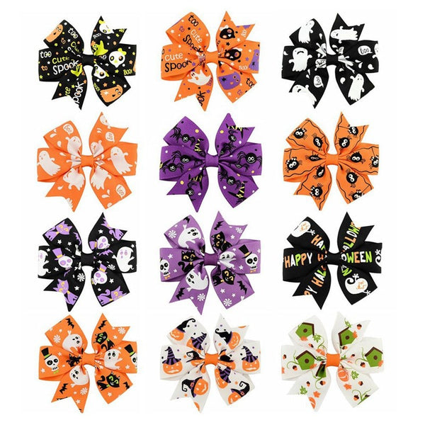Little Ladies Halloween Hair Bow