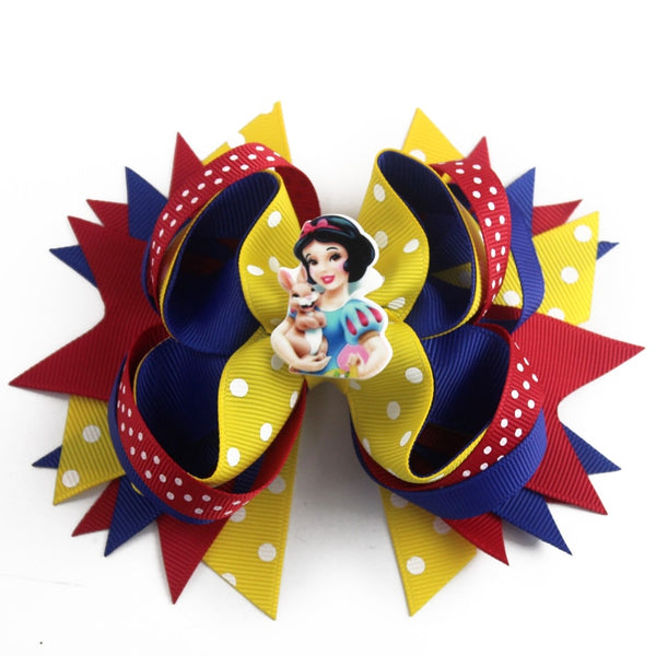 Little Ladies Princess Hair Bow - 5 inch