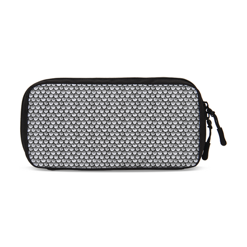 Stippled Scales in Monochrome Small Travel Organizer | shopcontrabrands.com
