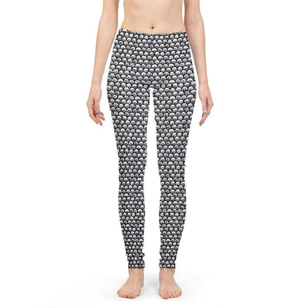 Stippled Scales in Monochrome Women's Yoga Pant | contrabrands