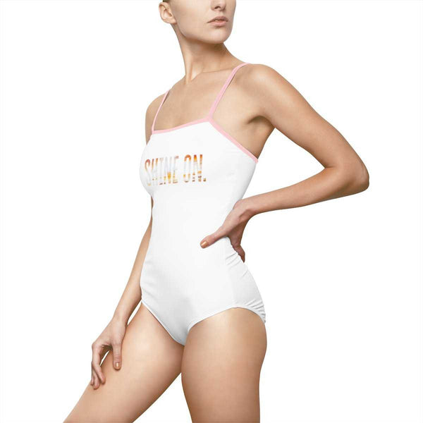 Shine On One Piece Swimsuit | shopcontrabrands.com
