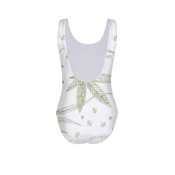 SoStoned.Co CANNABIS Print II Women's One-Piece Swimsuit