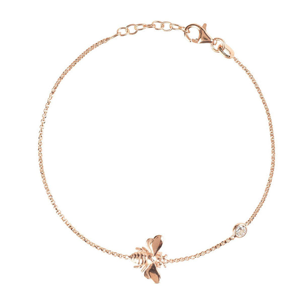 Queen Bee Bracelet Rosegold | shopcontrabrands.com