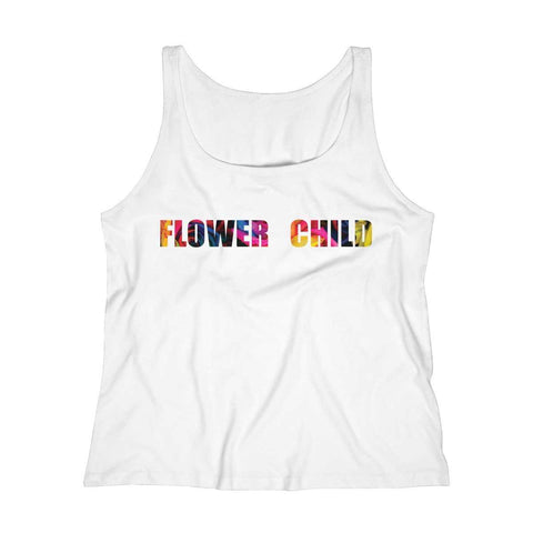 Flower Child Relaxed Jersey Tank -Floral II - shopcontrabrands.com