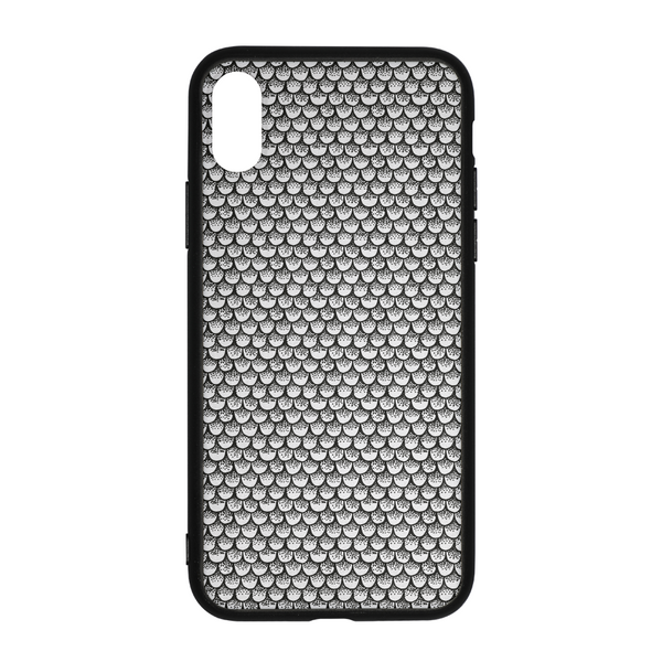 Stippled Scales in Monochrome iPhone X Case | shopcontrabrands.com