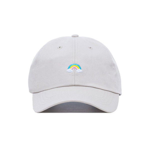 Embroidered Rainbowtastic Rainbow Dad Hat - Baseball Cap / Baseball Hat - shopcontrabrands.com
