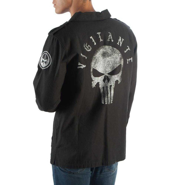 Utility Punisher Jacket Punisher Apparel Punisher Gift - Marvel Jacket Punisher Clothing | shopcontrabrands.com