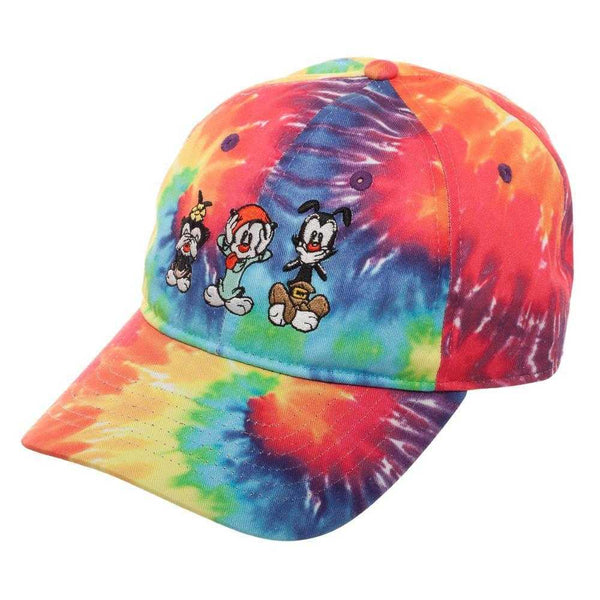 Animaniacs Hat - Tye Dye Hat Inspired by Animaniacs Cartoon - shopcontrabrands.com