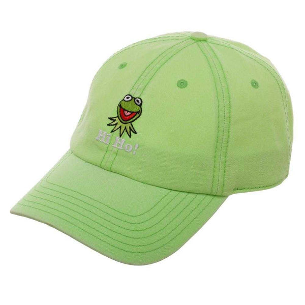 Kermit the Frog Hat - Green Hat w/ Kermit the Frog - shopcontrabrands.com