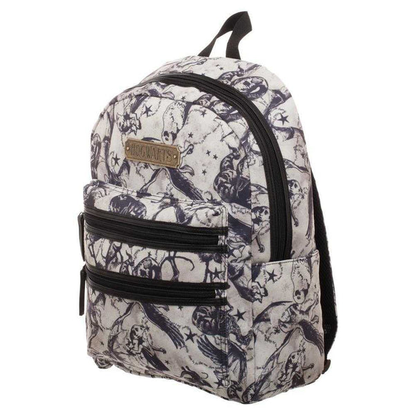 Harry Potter Beasts Double Zip Backpack  Officially Licensed Harry Potter Backpack - shopcontrabrands.com