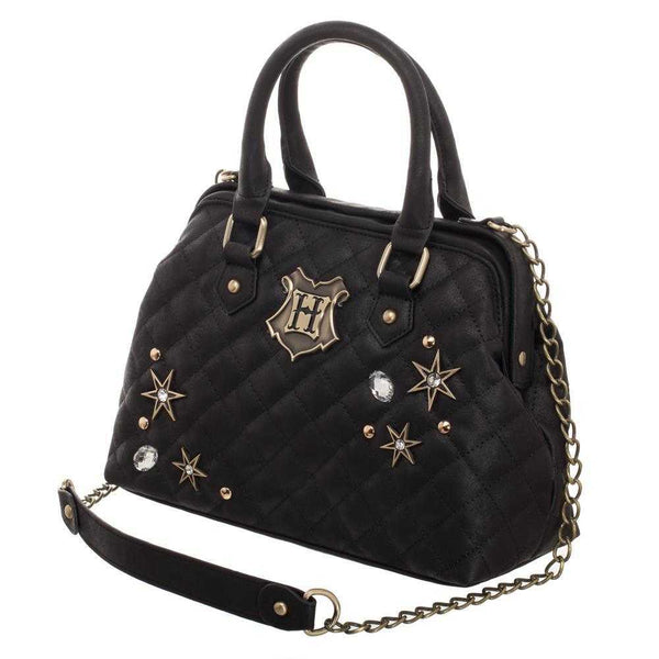 Harry Potter Back To Hogwarts Quilted Embellished Handbag - shopcontrabrands.com