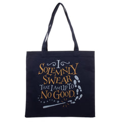 Harry Potter I Solemnly Swear That I Am Up To No Good Canvas Tote Bag - shopcontrabrands.com