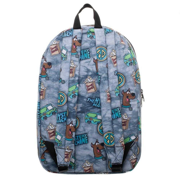 Scooby Doo Backpack Mystery Machine Bag - Scooby Doo Gift Mystery Machine Backpack Sublimated Backpack | shopcontrabrands.com