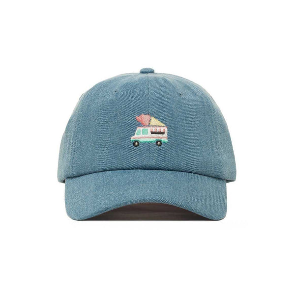 Unique Embroidered Ice Cream Is Life Dad Hat - Baseball Cap / Baseball Hat | shopcontrabrands.com