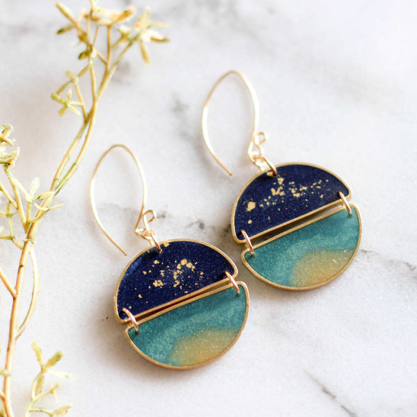 Night Swimming Earrings - shopcontrabrands.com