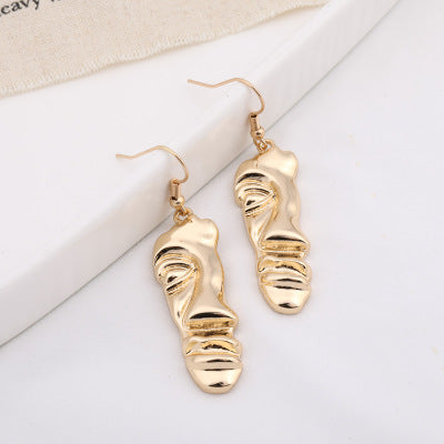 Funny Faces Drop Earrings