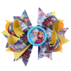 Little Ladies Frozen Princess Hair Bow