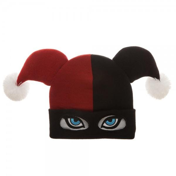 Harley Quinn Big Face Beanie - shopcontrabrands.com