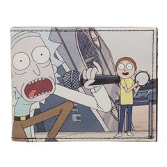 Rick and Morty Schwifty Rick and Morty BiFold Wallet Rick and Morty Accessories - Rick and Morty Wallet Rick and Morty Gift | shopcontrabrands.com