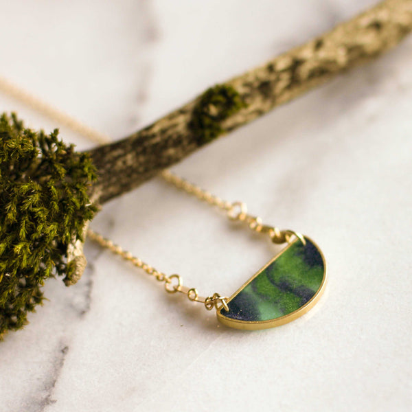 Mood Swings Necklace - Aurora Borealis - shopcontrabrands.com