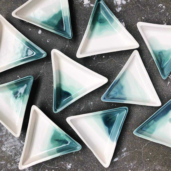 Triangle Jewelry Dish - Ocean | shopcontrabrands.com