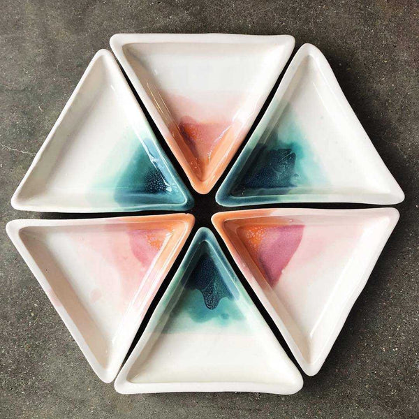 Triangle Jewelry Dish - Desert | shopcontrabrands.com