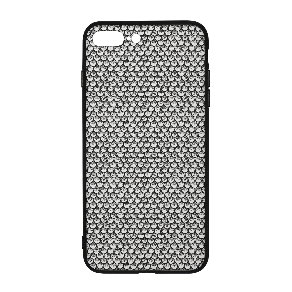 Stippled Scales in Monochrome iPhone 8 Plus Case | shopcontrabrands.com