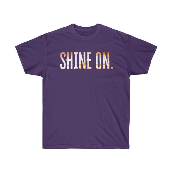 Shine On Unisex Cotton Tee | shopcontrabrands.com