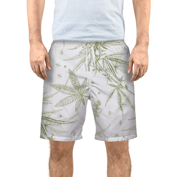 SoStoned.Co CANNABIS Print II Men's Swim Trunk