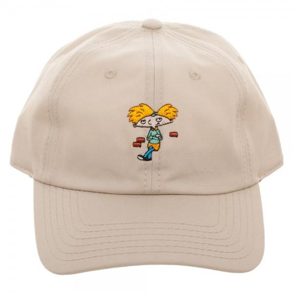 Nickelodeon Hey Arnold! Adjustable Hat - shopcontrabrands.com