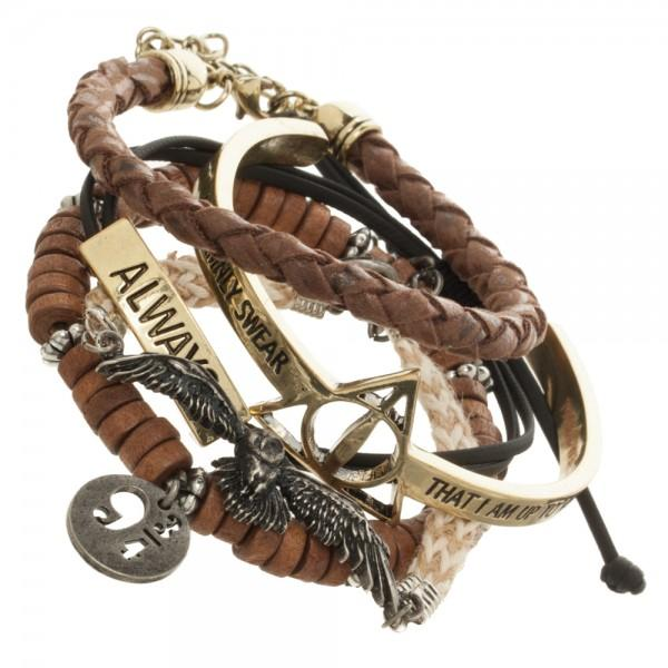 Harry Potter Bracelet Set - shopcontrabrands.com