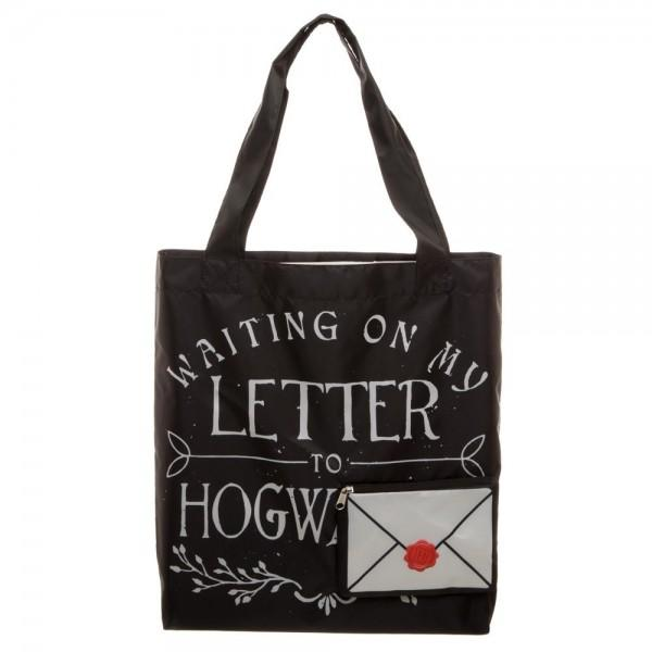 Harry Potter Letter To Hogwarts Packable Tote - shopcontrabrands.com