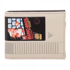 Nintendo Super Mario Cartridge Bi-Fold Wallet ALL | shopcontrabrands.com