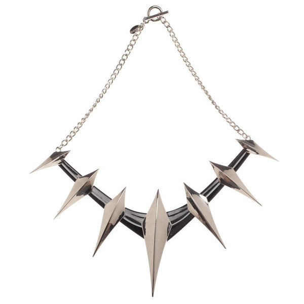 Black Panther Spike CosplayNecklace - shopcontrabrands.com
